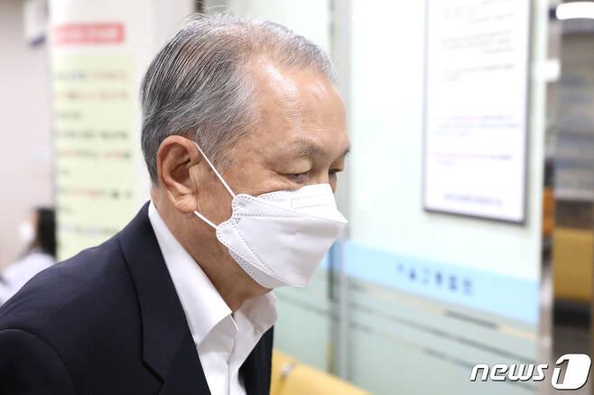 김기춘 전 청와대 비서실장 © News1 임세영 기자