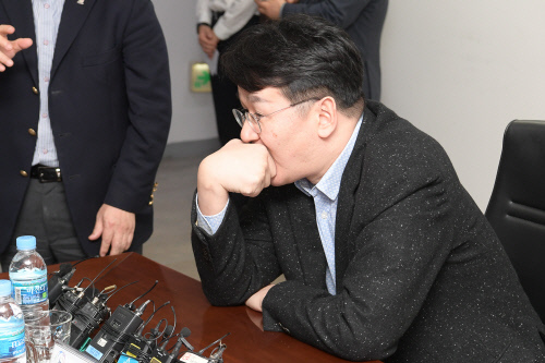 조원태 한국배구연맹 총재. 제공 | KOVO