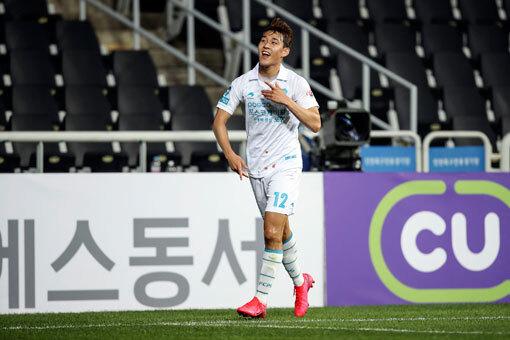 포항 송민규. 사진제공 | 한국프로축구연맹