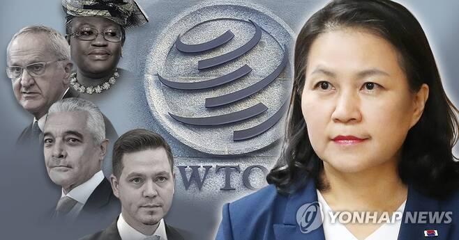세계무역기구(WTO) 사무총장 후보자 (PG) [김민아 제작] 사진합성