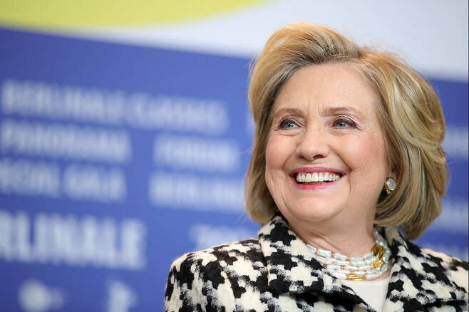 힐러리 클린턴 전 미국 국무장관.[게티이미지]