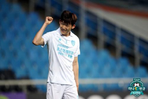 포항 이승모. 제공 | 한국프로축구연맹