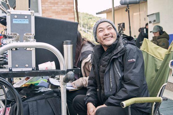 지난달 18일 개봉한 영화 '사라진 시간'의 각본과 연출을 맡은 정진영. [사진 에이스메이커무비웍스]