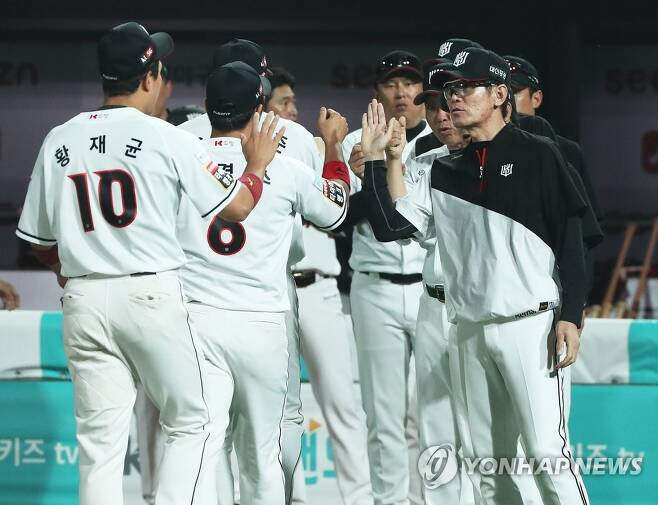 KT 승리 [연합뉴스 자료사진]
