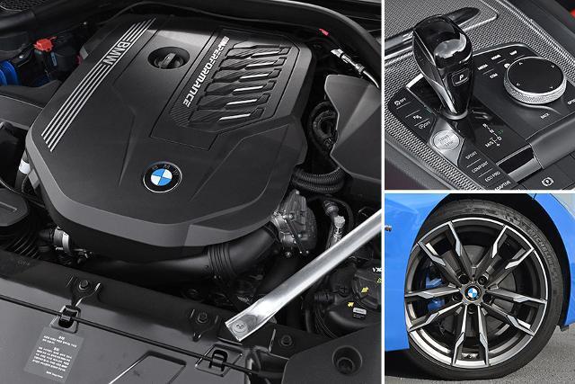 BMW Z4 M40i는 강력한 심장을 자랑한다.