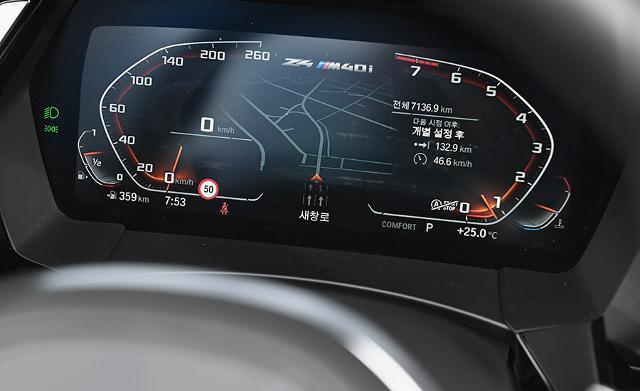 BMW Z4 M40i는 주행 내내 '성능의 여유'를 제시해 이목을 집중시켰다.