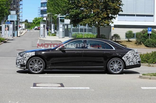 차세대 메르세데스-벤츠 S클래스(W223) 시험주행차량 (사진제공:S. Baldauf/SB-Medien)