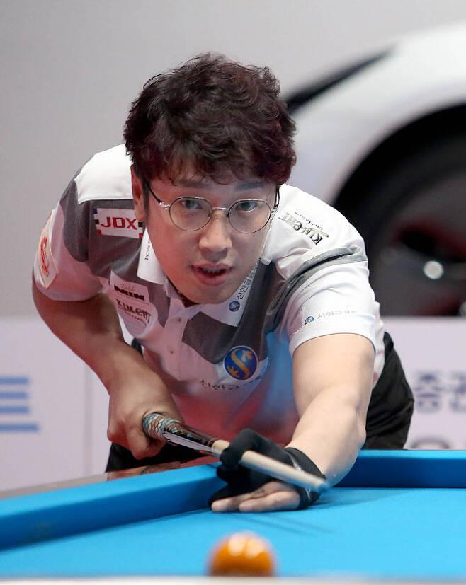 SK렌터카 챔피언십 PBA 투어 개막전에서 우승을 차지한 오성욱. 사진=PBA 제공
