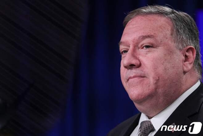 마이크 폼페이오 미국 국무장관. © AFP=뉴스1 © News1 자료사진