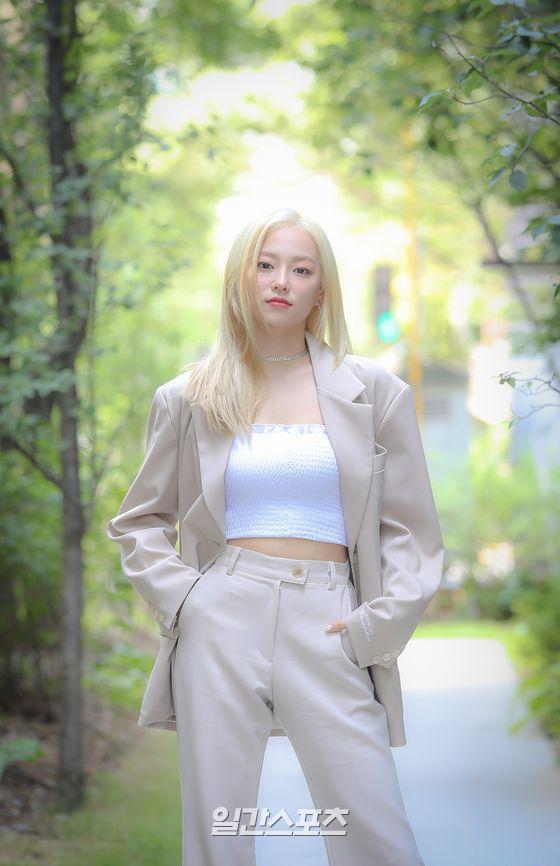 그룹 CLC 장예은이 6일 오후 서울 마포구 상암동 JTBC에서 일간스포츠와 인터뷰를 가졌다. 박세완 기자 park.sewan@jtbc.co.kr / 2020.07.06/