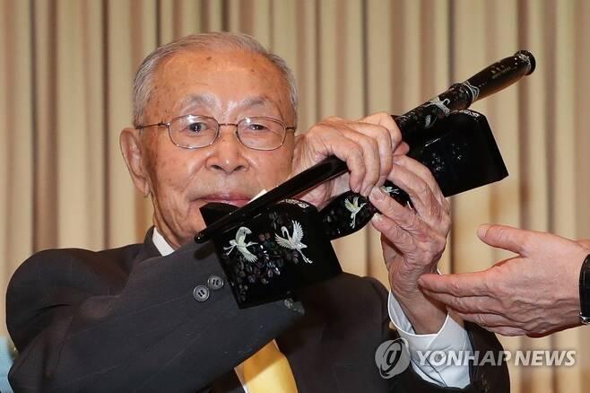 '한국군 최초 대장' 백선엽 장군 별세 2020.7.11 [연합뉴스 자료사진] photo@yna.co.kr