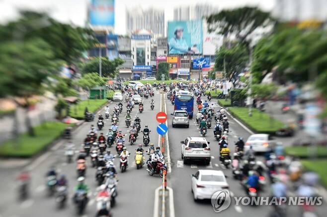 """베트남 """"85일 연속 코로나19 지역감염 '0'"""" [AFP=연합뉴스 자료 사진]"""