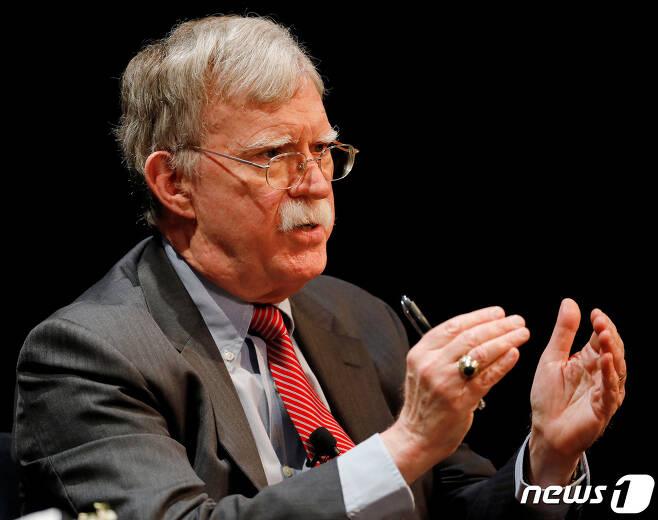 존 볼턴 전 백악관 국가안보보좌관. © 로이터=뉴스1 © News1 박형기 기자