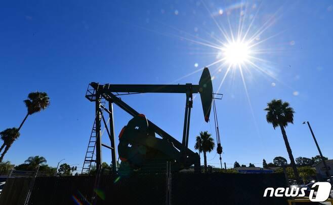 캘리포니아주의 한 석유시추 설비/AFP=뉴스1