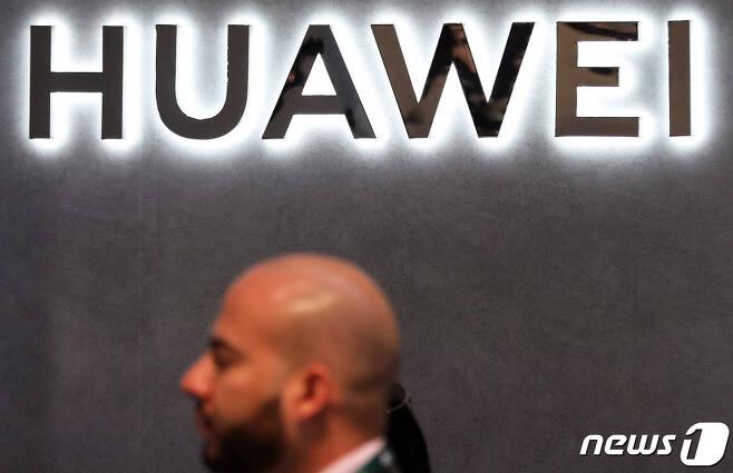 중국 정보통신(ICT) 기업 화웨이의 로고/뉴스1 © News1 오대일 기자