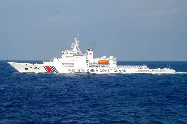 센카쿠(중국명 댜오위다오)열도 주변 해상에 접근한 중국 선박/사진=AFP