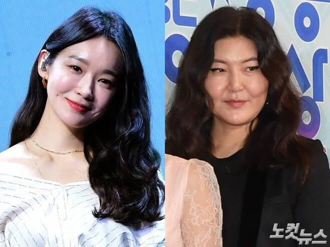 왼쪽부터 가수 강민경과 스타일리스트 한혜연 (사진=노컷뉴스 자료사진)