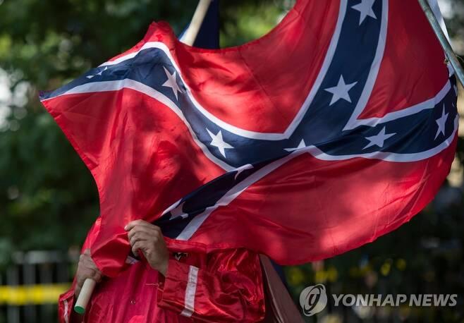 남부연합기 [AFP=연합뉴스]