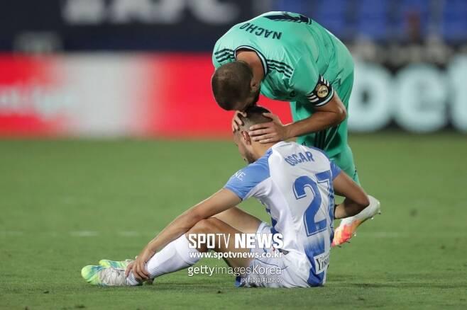 ▲ 레알 마드리드와 비겼으나 강등을 피하지 못한 레가네스