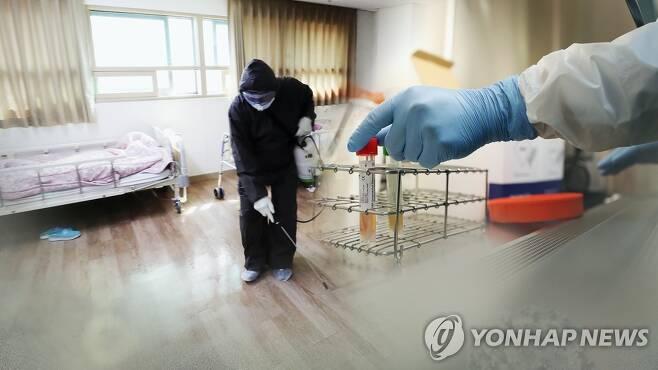서울 강서구 요양시설서 확진자 9명 발생 (CG) [연합뉴스TV 제공]