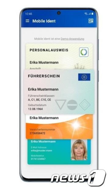 삼성전자가 독일에서 갤럭시S20 시리즈가 스마트폰 최초로 모바일 국가 전자신분증(eID) 솔루션을 제공한다고 밝혔다. <삼성전자 뉴스룸 갈무리> © 뉴스1