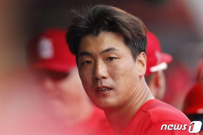 세인트루이스 카디널스 김광현. © AFP=뉴스1