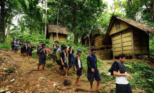 인도네시아 바두이족 마을. 쿰파란 캡처