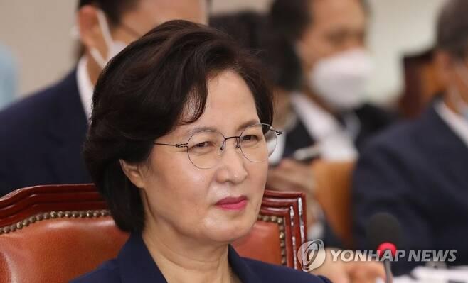추미애 법무부 장관 [연합뉴스 자료 사진]
