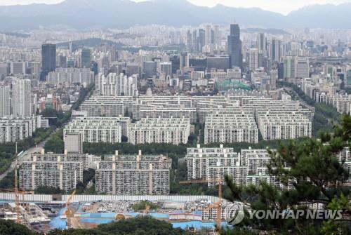 강남 아파트 단지 [연합뉴스 자료사진]