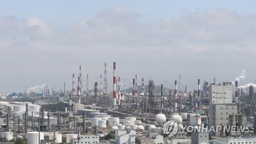 SK이노베이션 울산 콤플렉스가 있는 석유화학공단 모습   [연합뉴스 자료사진]