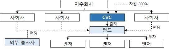 CVC 자금조달 및 투자구조 [공정위 제공]