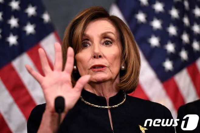 민주당 소속 낸시 펠로시 미국 하원의장. © AFP=뉴스1