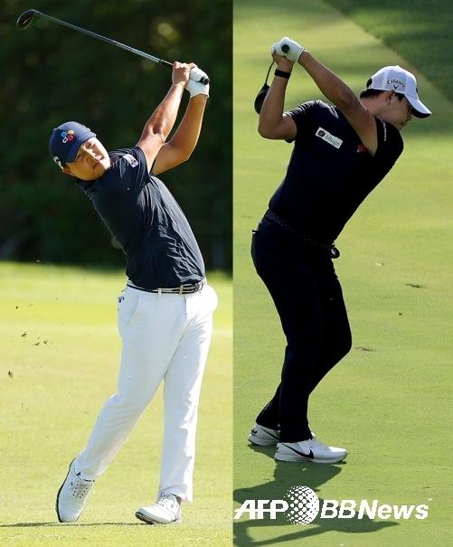 '변형 스테이블포드' 방식 대회인 2020년 PGA 투어 바라쿠다 챔피언십에 출전한 이경훈, 김시우 프로. ⓒAFPBBNews = News1