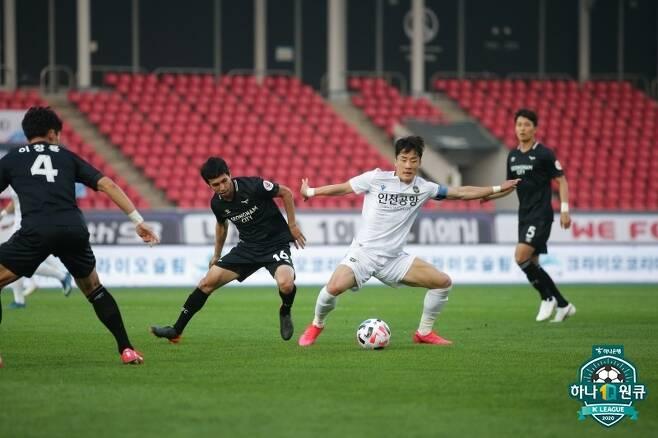 5월 17일 성남과 인천의 맞대결 모습 [한국프로축구연맹 제공. 재판매 및 DB 금지