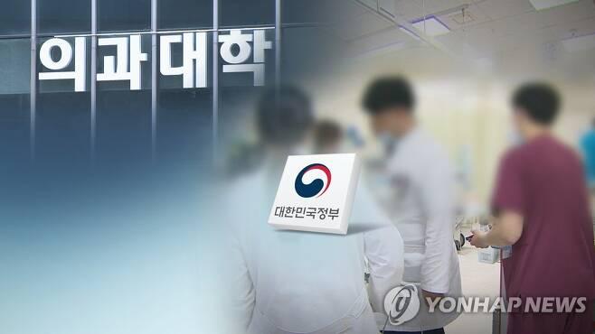 """정부 계획 어떻길래…""""10년간 지역의사 3천명 양성"""" (CG) [연합뉴스TV 제공]"""