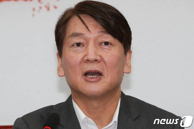 안철수 국민의당 대표. © News1 성동훈 기자