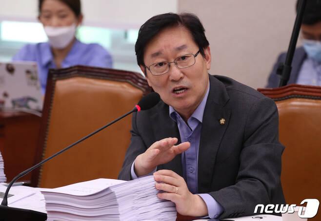 박범계 더불어민주당 의원. 2020.7.27/뉴스1 © News1 박세연 기자