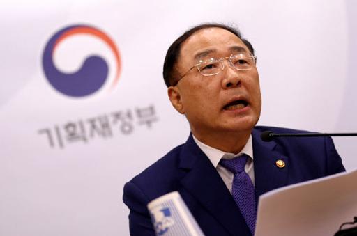 홍남기 경제부총리 겸 기획재정부 장관. 세종=연합뉴스
