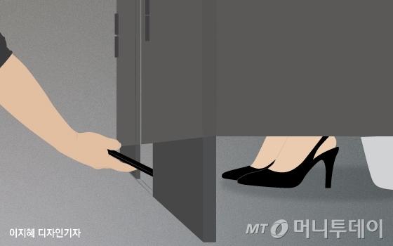 화장실 불법촬영 / 사진=이지혜 디자인기자
