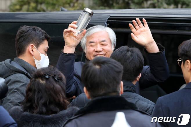 전광훈 사랑제일교회 목사(한국기독교총연합회 대표회장) © News1 안은나 기자