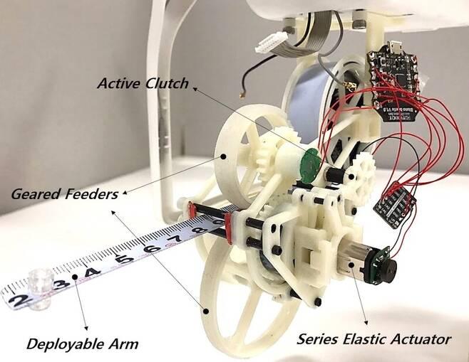 포획로봇 '스내처'의 구조.