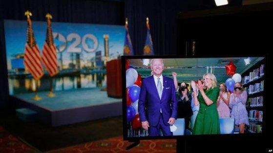 조 바이든 미 민주당 대통령 후보가 당선돼도 중국에 대한 강경 정책이 크게 변화하지는 않을 것이라는 분석이 많이 나온다. [중국 환구망 캡처]