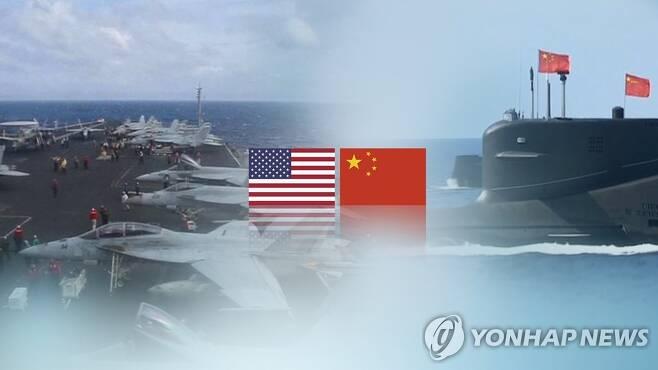 미중, 남중국해 문제 놓고 갈등 고조 (CG) [연합뉴스TV 제공]