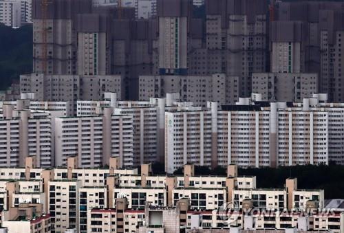 서울 강남구 대치동 일대 아파트 단지 모습 [연합뉴스 자료사진]