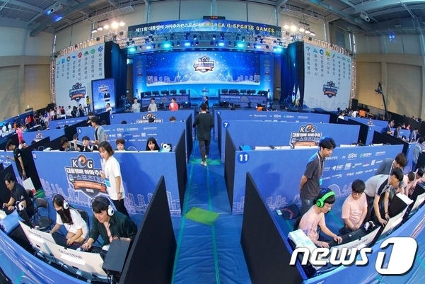 국내 최대규모인 '대통령배 e스포츠대회'가 오는 2022년 군산에서 열린다.© 뉴스1
