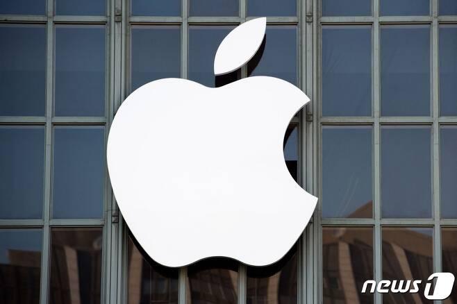 미국 애플사 로고 <자료사진> © AFP=뉴스1