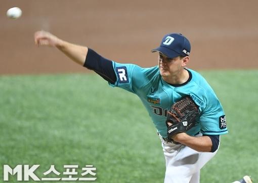 NC 외국인 투수 드류 루친스키가 LG 상대로 시즌 14승을 노린다. 사진=MK스포츠 DB