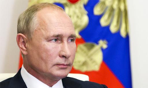 블라디미르 푸틴 러시아 대통령. AP연합뉴스