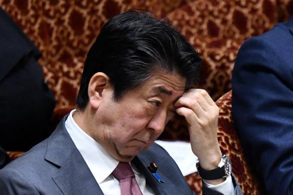 아베 신조 일본 총리 AFP 연합뉴스
