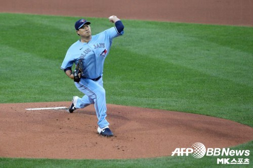 몬토요 감독은 류현진이 자기 역할을 했다고 평했다. 사진(美 버팔로)=ⓒAFPBBNews = News1